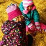 Elif and Uta explore the giant corn crib!